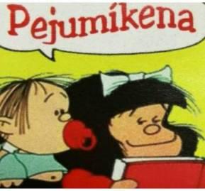 En 2017 la lingüista María Gloria Pereira tradujo Mafalda al guaraní en 10 tomos