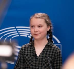 Greta Thunberg. Foto: European Parliament