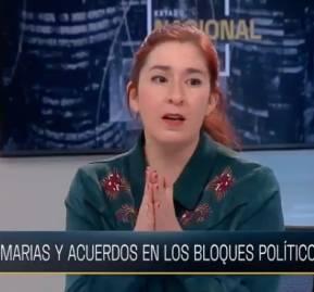 Catalina Pérez, Presidenta de RD en Estado Nacional