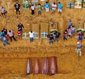 Cementerio de Manaos. Foto: DW.com