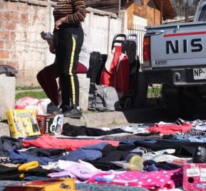 Coleros de la Feria La Castrina. Foto: Camila Higuera