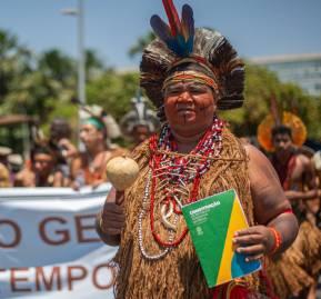 Los pueblos indígenas critican la falta de demarcación de tierras. (Foto: Tiago Miotto/Cimi)