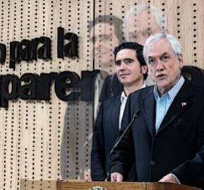 Ministro Ignacio Briones y presidente Sebastián Piñera.