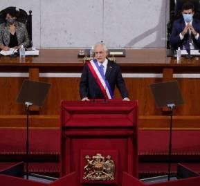 El día de la cuenta pública en que Piñera anunció respaldo a matrimonio igualitario