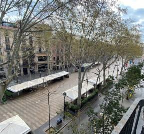 Rambla de Barcelona. Vía Twitter: @NoSoyLisa