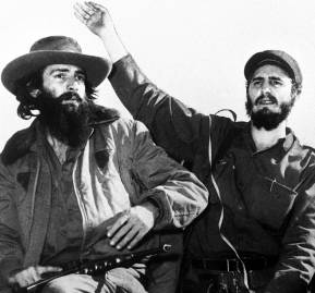 Fidel Castro y Camilo Cienfuegos.