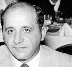 Sam Giancana, uno de los gangster que reinaban en La Habana en la década de los 50'.