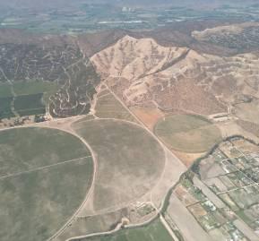 Foto aérea de Baracaldo, en María Pinto.