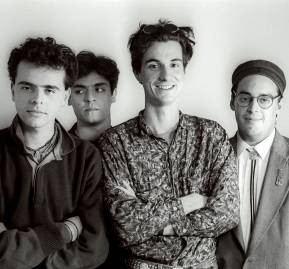 Los Tres en su disco debut (Fotografía: Gonzalo Donoso)