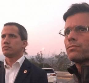 Juan Guaidó y Leopoldo López, y el día en que no fue