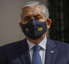 Héctor Espinosa, director general de la PDI