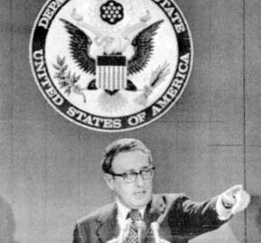 Henry Kissinger, secretario de Estado de Nixon.