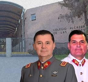 Ricardo Martínez Menanteau, comandante en jefe del Ejército y Leonardo Martínez Menanteau, gerente general de la Fundación Alcázar