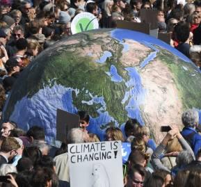 La manifestación en Berlín, uno de los epicentros de las marchas en las que cientos de miles de ciudadanos salieron a manifestarse
