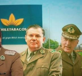 Generales Pamela Olivares, Enrique Bassaletti y Mario Rozas