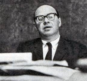 Jaime Castillo Velasco en 1970. Foto: Hugo Donoso.