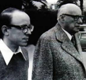 Jaime Guzmán y Jorge Alessandri.