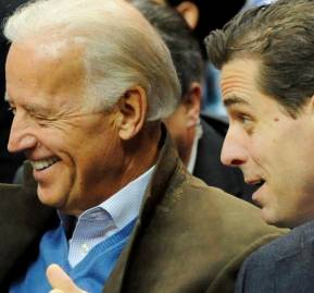 Joe y Hunter Biden