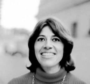 Marta Harnecker a comienzos de los años 70'. Fotografía de Armindo Cardoso, revista Chile-Hoy