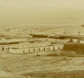 Oficina salitrera en Antofagasta.