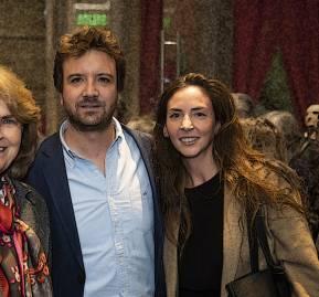Patricia Matte, Juan Luis Ossa Santa Cruz, Constanza Bollman Schele. Foto: El Mercurio