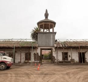 Casas del Fundo Quilapilún. Foto: Consejo de Monumentos Nacionales