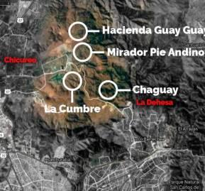 Proyectos inmobiliarios desarrollándose en área de preservación ecológica de Lo Barnechea y Chicureo
