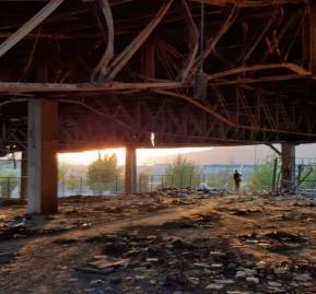 Escombros de la fábrica Kayser, ubicada en Renca. Foto: Interferencia