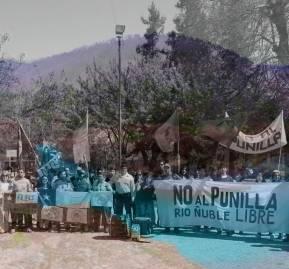 Familia desalojadas de San Fabián de Alico