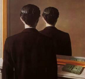 """""""La reproduction interdite"""", 1937, René Magritte"""