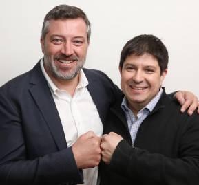 Sebastián Sichel y Jaime Briceño