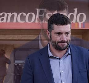 Sebastián Sichel, presidente de BancoEstado | Foto: Agencia Uno. Montaje: Interferencia
