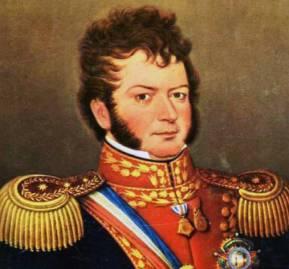 Retrato de Bernardo O'Higgins. Instituto Geográfico Militar de Chile