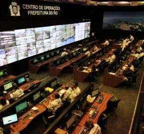 Sistema Smart City en Río de Janeiro.