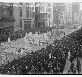 Desfile por el derecho a votar