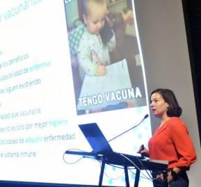 María Paz Bertoglia, vicepresidenta de la Sociedad Chilena de Epidemiología