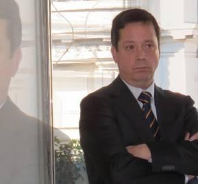 El jefe de fiscalización de la SISS, Juan José Domínguez Risopatrón
