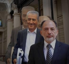 Julio Ponce Lerou y Sergio Muñoz.