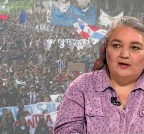 Dafne Concha, presidenta de la Corpade.
