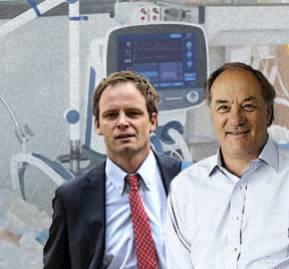 Arturo Zúñiga y Juan Sutil.