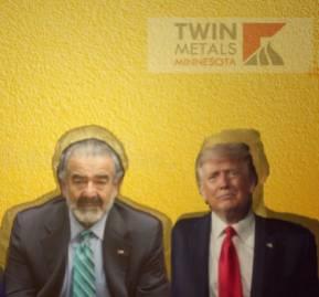 De izquierda a derecha: Joe Biden, Andrónico Luksic y Donald Trump