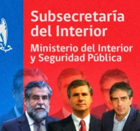 Algunos de los jefes de Carrasco en Piñera II: subsecretario Ubilla y alcaldes Lira y Palacios