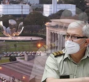 Buenos Aires. General director de Carabineros Ricardo Yáñez Reveco