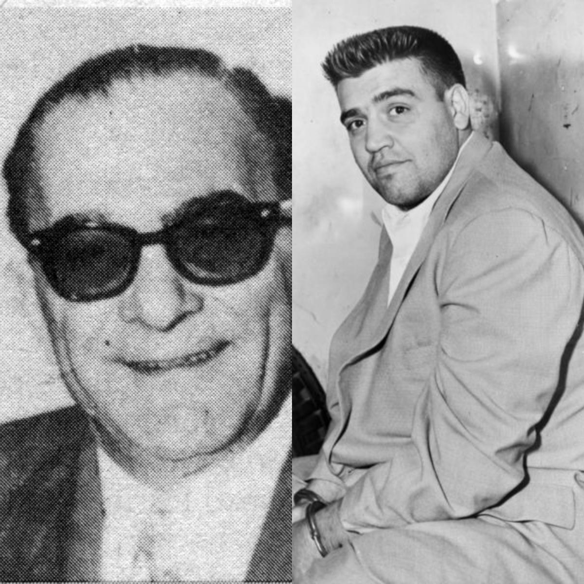 Vito Genovese y Vincent Gigante.