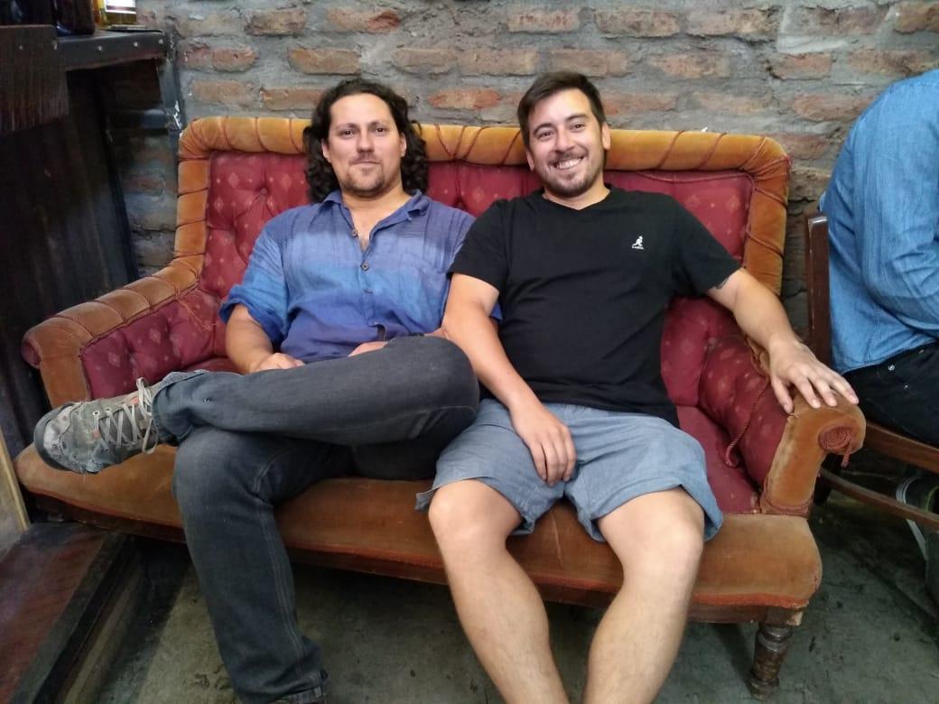 William Flores y Mario Salazar
