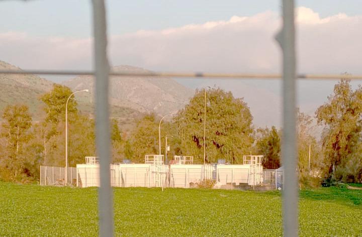 Planta de tratamiento de aguas servidas del Ejército. Foto: Francisco Velásquez